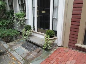 Front Entrance Urn Planters
