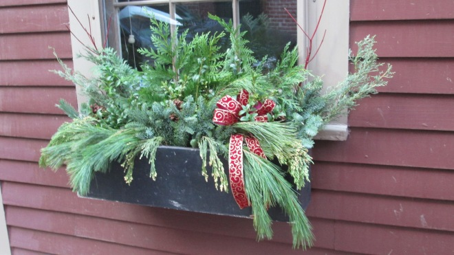 Window box arrangement